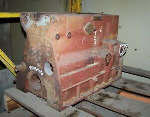 Allis Chalmers Engine Block 4006906 200 Cubic Inches C i