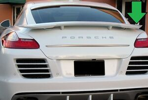 For Porsche Panamera M style Painted In Any Color Rear Wing Spoiler 2010 2013