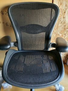 Brand New Herman Miller Aeron Chair Size b Fully Loaded Options