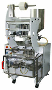 Wrapsense Liquid Vertical Form Fill Seal Sachet Machine Vffs With Piston Filler