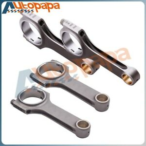 Durable For Volvo B230 152mm Connecting Rod Con Rods Bielle With Arp 2000 Bolts