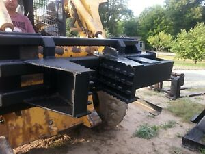 Tree Puller Super Duty New Skid Loader Skid Steer Compact Tractor