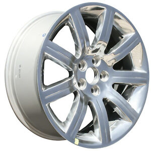03768 New Compatible 19 Inch Aluminum Wheel Fits Ford Flex 2009 2012 Polished