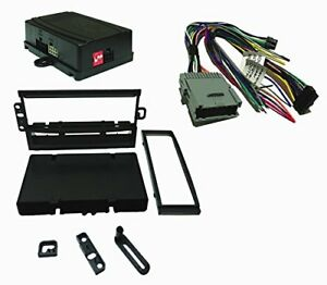 Radio Replacement Swc Retention Single Din Dash Kit For Gm Chevy Gmc 2003 2013