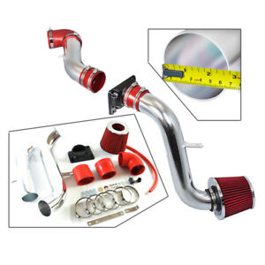 Cold Air Intake System Kit Filter For 00 05 Mitsubishi Eclipse 2 4 3 0l Red