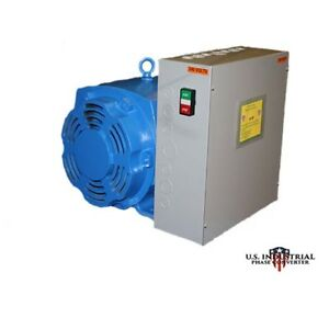 50 Hp Rotary Phase Converter New Best Deal