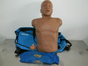 Simulaids Paul Cpr Training Manikin With African American Simulator Male