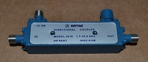 Krytar 2618 Directional Coupler 1 7 20ghz 16db Coupling Two Available Good