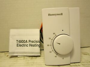Honeywell T4800a1015 Line Voltage Precision Heating Thermostat 240v