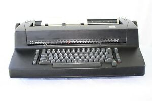 Vintage Black Ibm Selectric Ii Electric Typewriter As Is