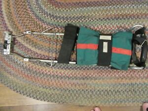 Dynamed Hare Traction Splint Extrication Green Accessory Bag Mod 1001 W straps