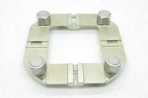 New Centering G Plate Inox For Edm Cnc Holder Compatible With Erowa Er 036658