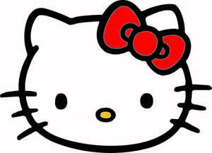 Hello Kitty Decal Sticker 3m Usa Made Truck Bike Helmet Vehicle Window Wall Car
