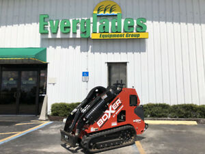 Boxer Mini Skid Steer 700 Hdx Only 24 Hours