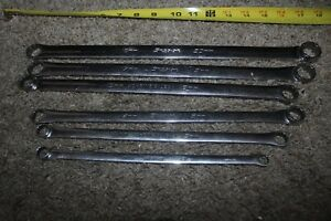 Snap on 6pc Metric 10mm To 20mm Box Wrench Set xdhfm606