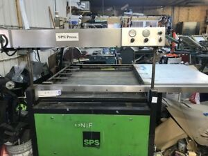 Sps Uniflex 4 Post Screen Printing Press Flatbed