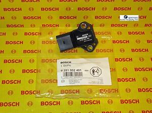 Audi Volkswagen Thrust Map Boost Pressure Sensor Bosch 0281002401 New Oem Vw