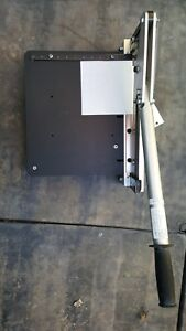 Commercial Quality Paper Cutter Inches millimeters