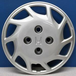 One 1994 Honda Accord 55030 14 Hubcap Wheel Cover 44733 Sv1 000 Brand New