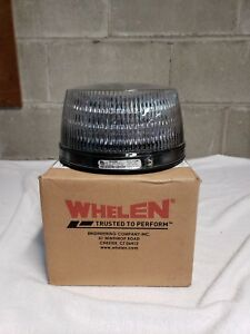 Whelen R 316 Beacon Amber clear Lens Permanent Base