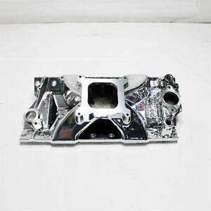 Edelbrock 29754 Victor Jr Series Intake Manifold Small Block Chevy