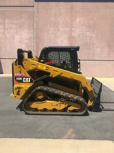2014 Cat 259d Low Hours With Attachments