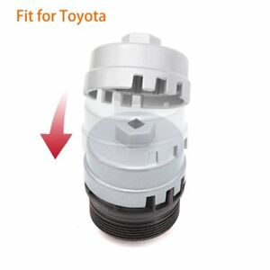 Oil Filter Wrench Cap Tool For 4 Cylinder Toyota Corolla Prius Matrix Highlander