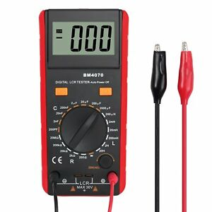 Camway Lcr Meter Lcd Capacitance Inductance Resistance Tester Measuring Meter