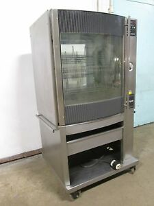 fri jado Stg 7 p H d Commercial 3 Ph Electric Chicken rib Rotisserie Oven