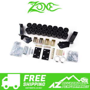 Zone Offroad 3 Body Lift Kit Fits 95 98 Chevy Gmc Silverado Sierra 1500 C9356