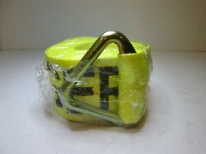 Lift all 61205 Yellow Polyester 4 X 27ft Winch Strap 5000 Lb Working Load Limit