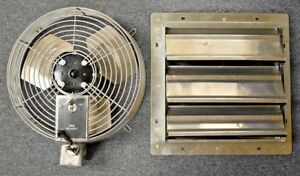 Marley Lpe12s 12 Inch Direct Drive Exhaust Fan With Shutter