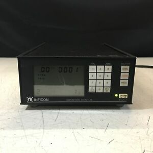 Leybold Inficon Xtm 2 Thin Film Deposition Monitor Model 758 500 g1