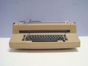 Vintage Ibm Selectric Ii Typewriter With 12 Point Ibm Script Cursive Ball