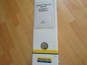 New Holland Boomer 30 35 Workmaster Tractor Factory Service Repair Manual Oem