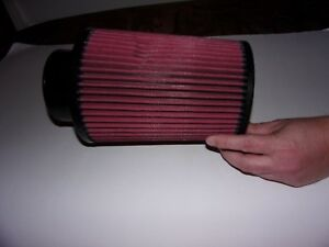 C l Cold Air Intake Replacement Filter 4 Inch Inlet 8 Length New