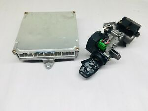 03 04 Honda Accord K24 Ecu 37820 Raa A04 Ecm Engine Computer W Key