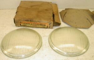 Nors 1934 1935 Glass Headlamp Lens Set Chevy Coupe Sedan Coupe Chevrolet