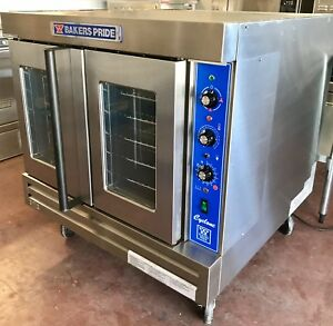 Convection Oven Bakers Pride Cyclone Co11 g1 Single Deck Full Size Natural Gas