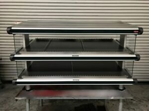 2 Tier Food Display Nsf Warmer Hatco Glo ray Gr2sds48d 7949 Self Serve Heated