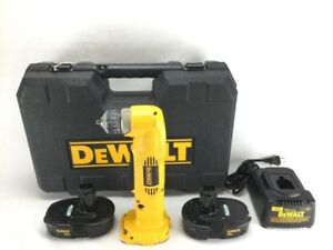 Dewalt Dw960 Angle Drill Kit With Battery And Case pb1010041