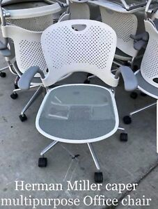 Herman Miller Slightly Used White Caper Multipurpose Chairs Retail 700 Each