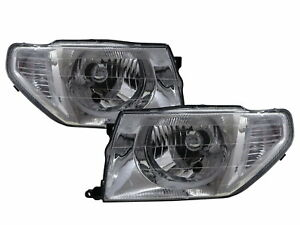 Pajero Tr4 1998 2015 Suv 3d 5d Clear Headlight Chrome For Mitsubishi Lhd