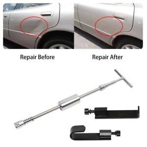 Paintless Hail Repair Pdr Tools Slide Hammer Lifter Door Edges Dent Remover Kit