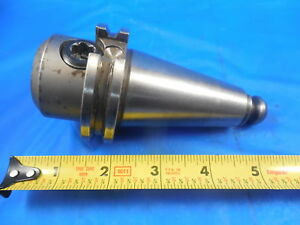 1 Solid End Mill Cat 40 Tool Holder 1 000 Machine Shop Cnc Tooling Toolmaker