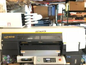 Mimaki Ujf 6042 Benchtop Flatbed Uv Printer used Great Cond