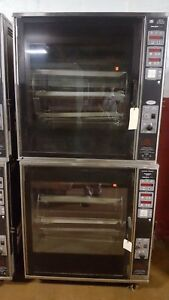 Henny Penny Scr 8 Chicken Rotisserie Oven Electric 208 3ph Double Stack