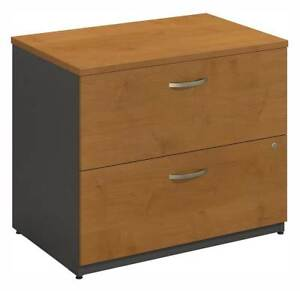 Assembled Cherry Front Lateral File Cabinet Series C id 2522