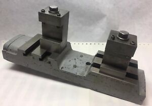 Lathe Bed With Tool Holders Fits Logan Lathe Model 1955 1 11