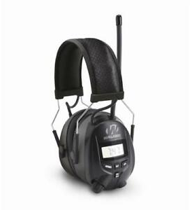 Walkers Muff With Am fm Radio Phone Connection 25db Black